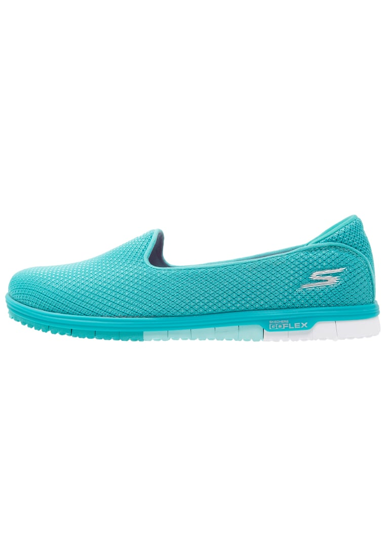 Skechers Performance GO MINI FLEX Półbuty wsuwane türkis - 14007
