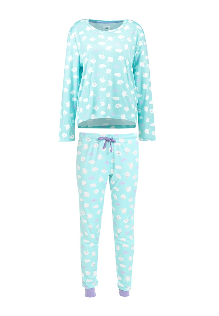 Chelsea Peers SLEEPY CLOUD SET Piżama blue - CPNY-BNB-038/B