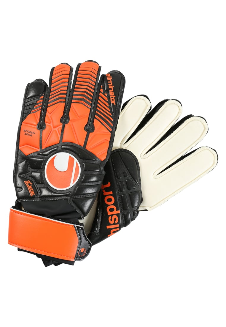 Uhlsport ELIMINATORSOFT ADVANCED Rękawice bramkarskie black/shock red/white - 1011034