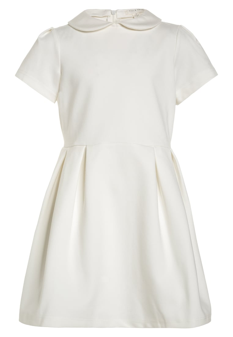 mint&berry girls PONTE Sukienka letnia white - Ponte Dress