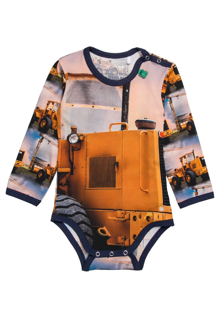 Fred's World by GREEN COTTON BULLDOZER PHOTO Body navy - 1582019100