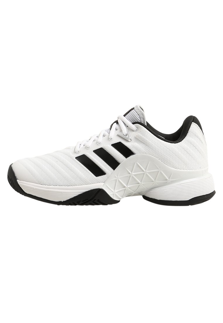 adidas Performance BARRICADE 2018 Buty multicourt white/black/silver - EFQ91