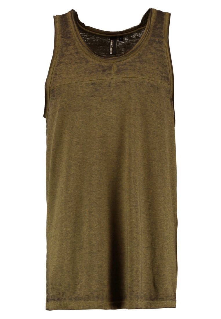 Brooklyn's Own by Rocawear Top khaki - BR-0517-M-0106 Colour burnout tank