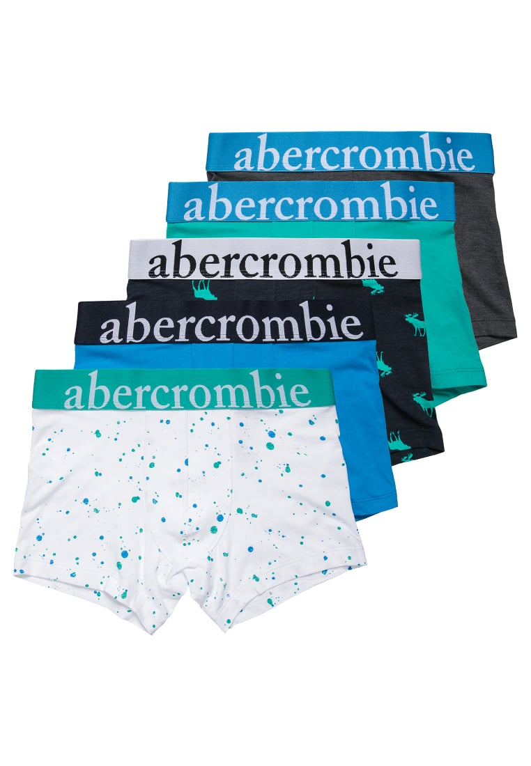 Abercrombie & Fitch 5 PACK Panty white/navy/spectra - KI214-7102
