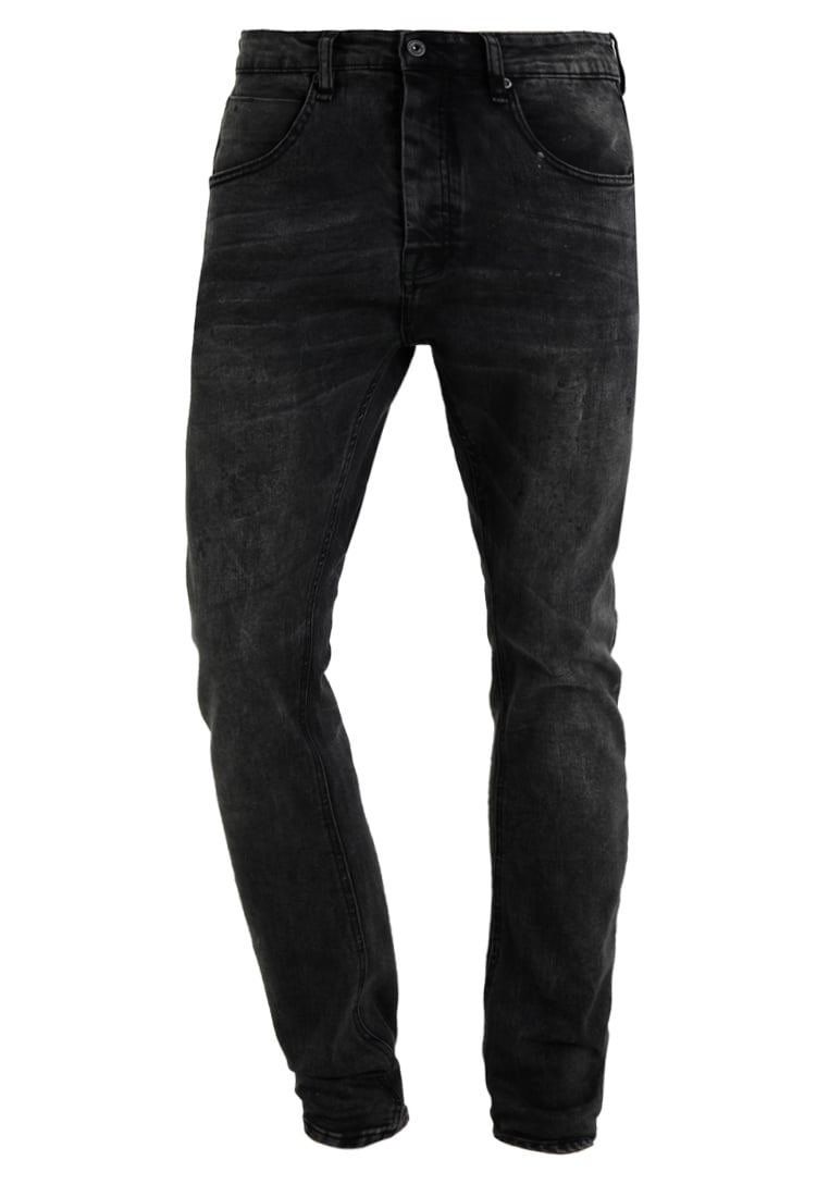 Cristiano Ronaldo CR7 Jeansy Relaxed fit gun metal/splat - CRD042