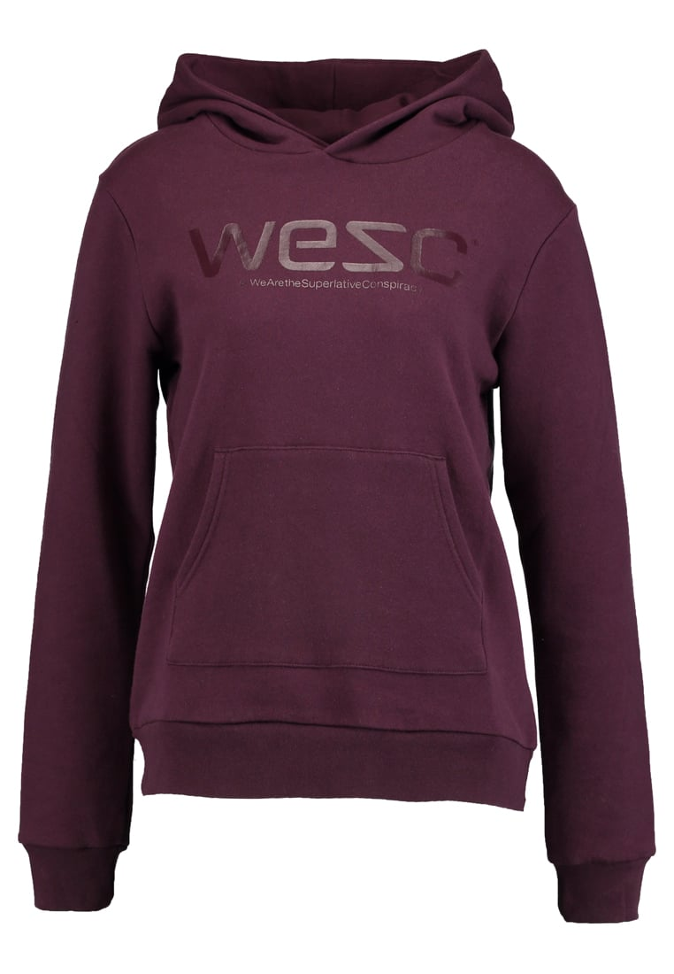 WeSC JOY Bluza z kapturem red port