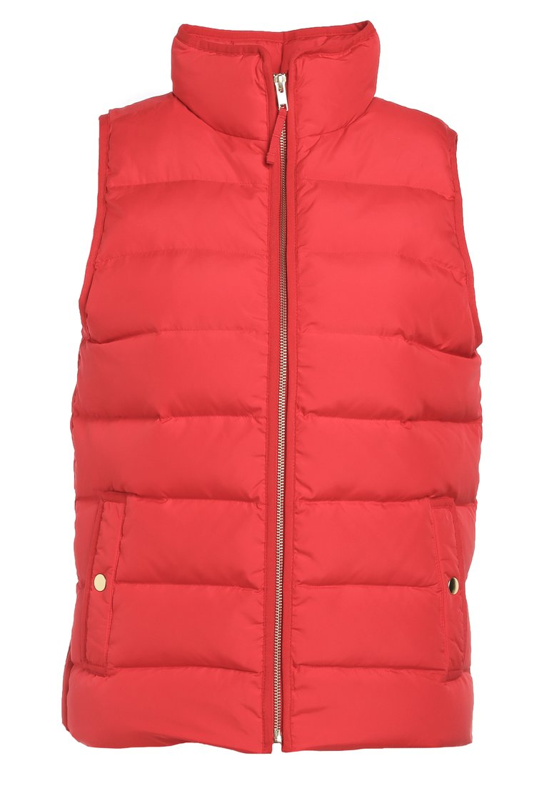 J.CREW ANTHEM VEST NEW EXCURSION Kamizelka dark poppy - H1622