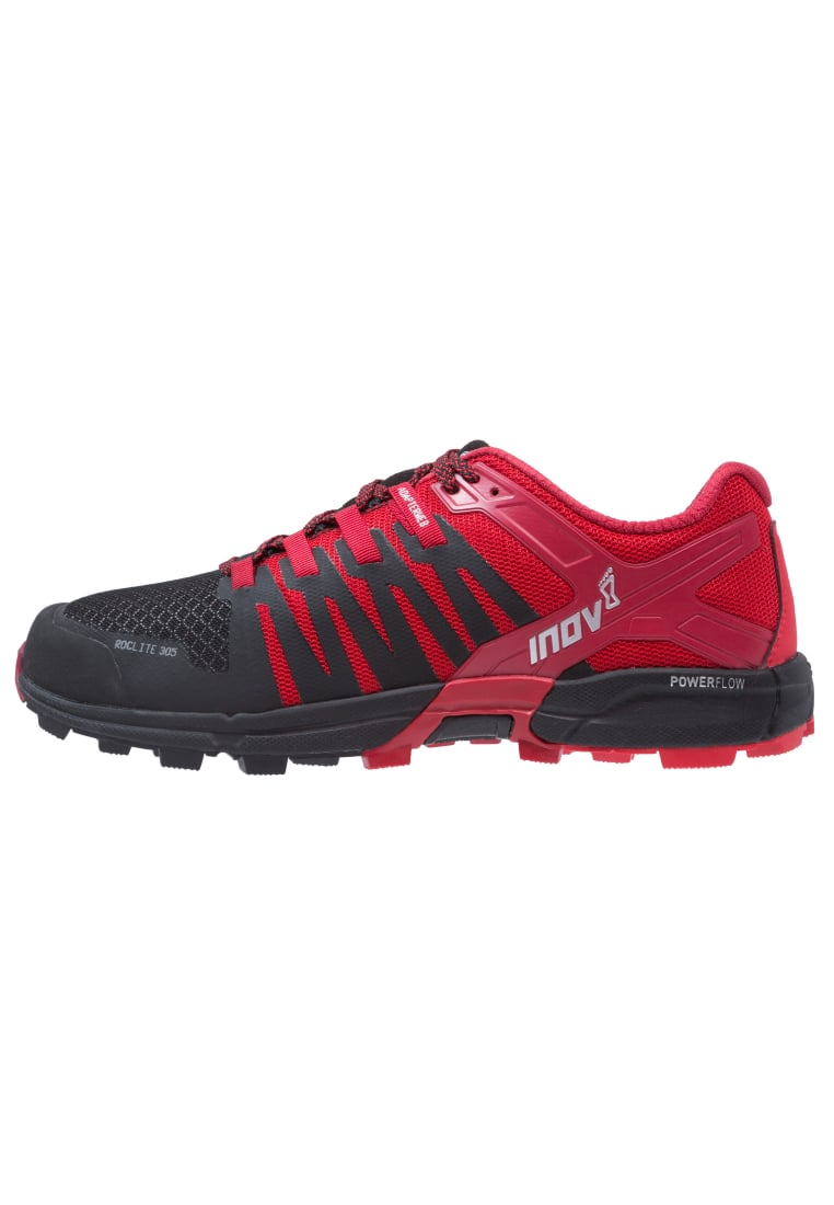 Inov8 ROCLITE 305 Buty do biegania Szlak black/red/dark red - 000550