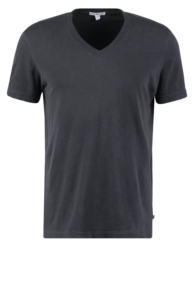 James Perse Tshirt basic carbon - MLJ3352
