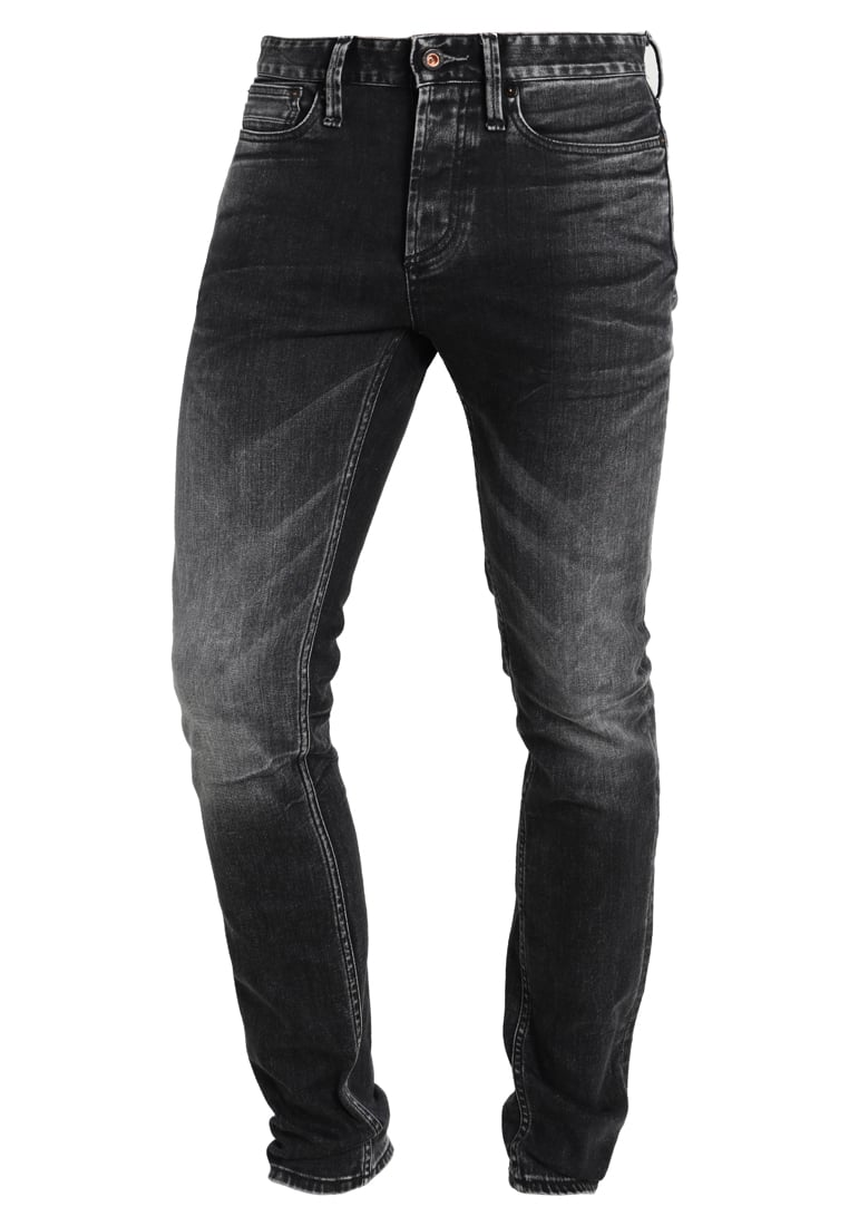 Denham BOLT Jeansy Slim fit black - 01-15-08-11-064