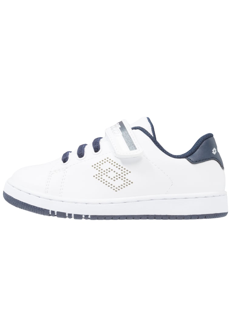 Lotto 1973 III CL SL Buty do tenisa Outdoor white/blue aviator - S7905