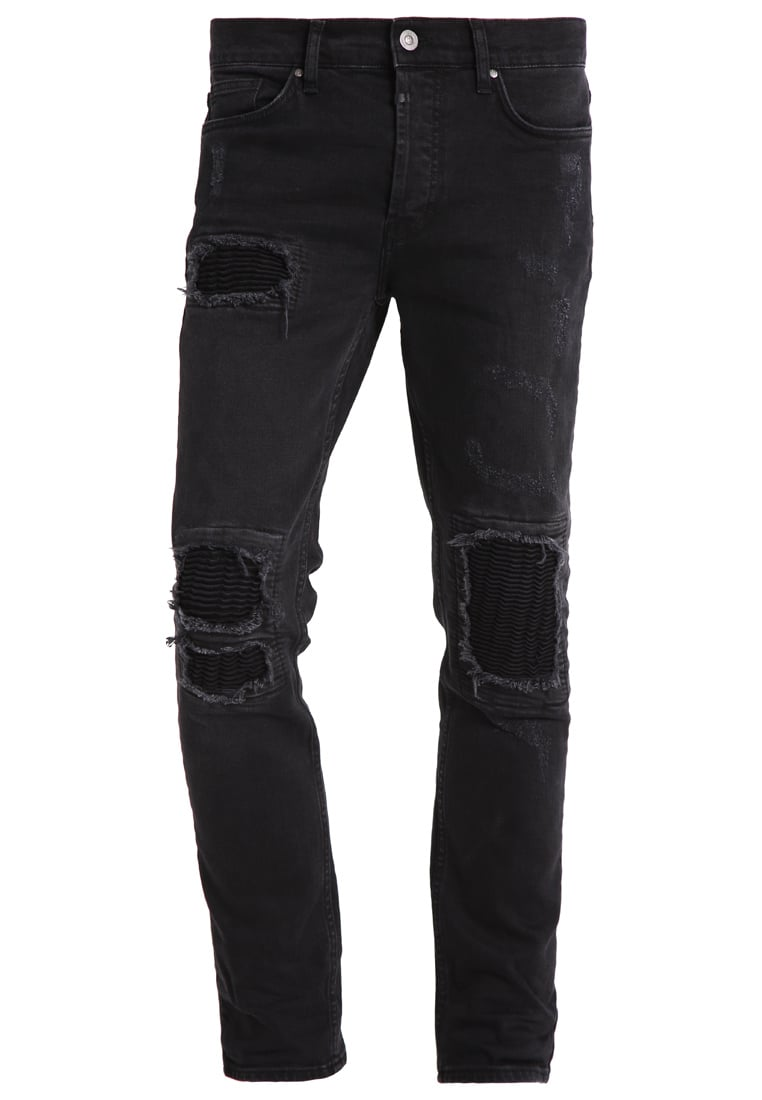 Tigha CLYDE Jeansy Slim fit vintage black - Clyde