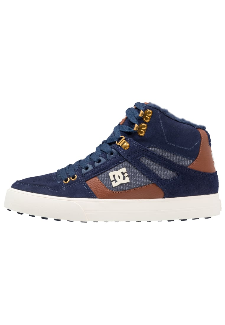 DC Shoes PURE HIGH WC WNT Buty skejtowe blue - ADYS400005