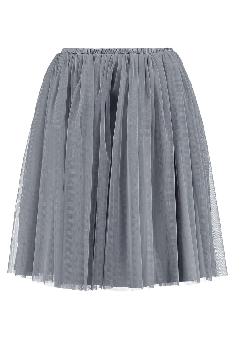 Lace & Beads Petite VAL Spódnica trapezowa grey - Val skirt