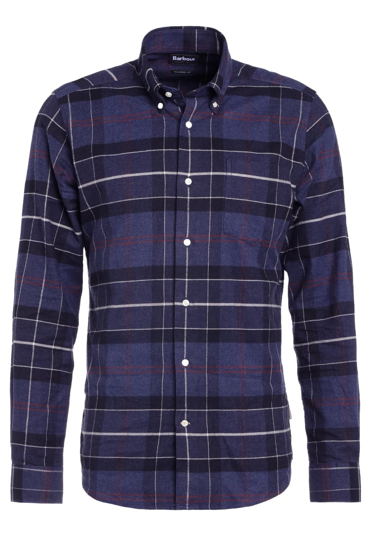 Barbour LUSTLEIGH TAILORED FIT Koszula navy marl - MSH3749
