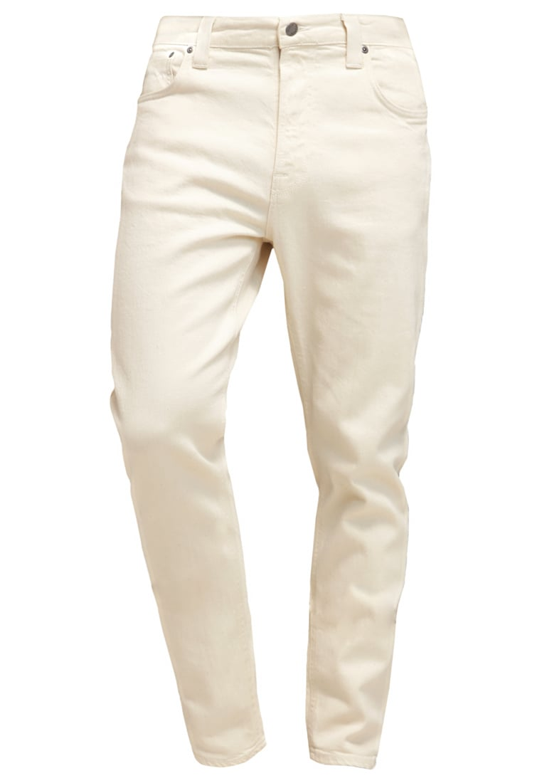 Nudie Jeans BRUTE KNUT Jeansy Relaxed fit ecru twill - 112299