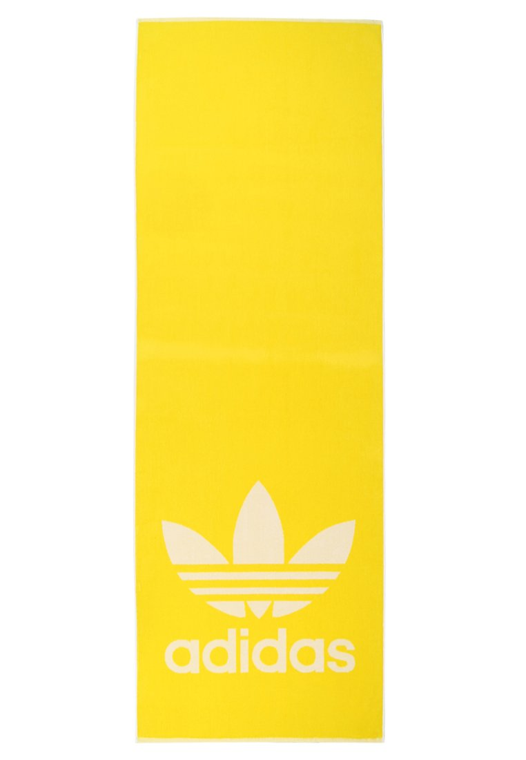 adidas Performance TOWEL ADICOLOR Akcesoria plażowe yellow/white - EKO53