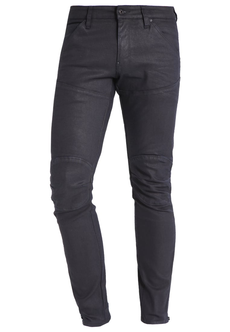 GStar 5620 AFROJACK ZIP 3D SUPER SLIM Jeans Skinny Fit black pintt stretch denim - D02634