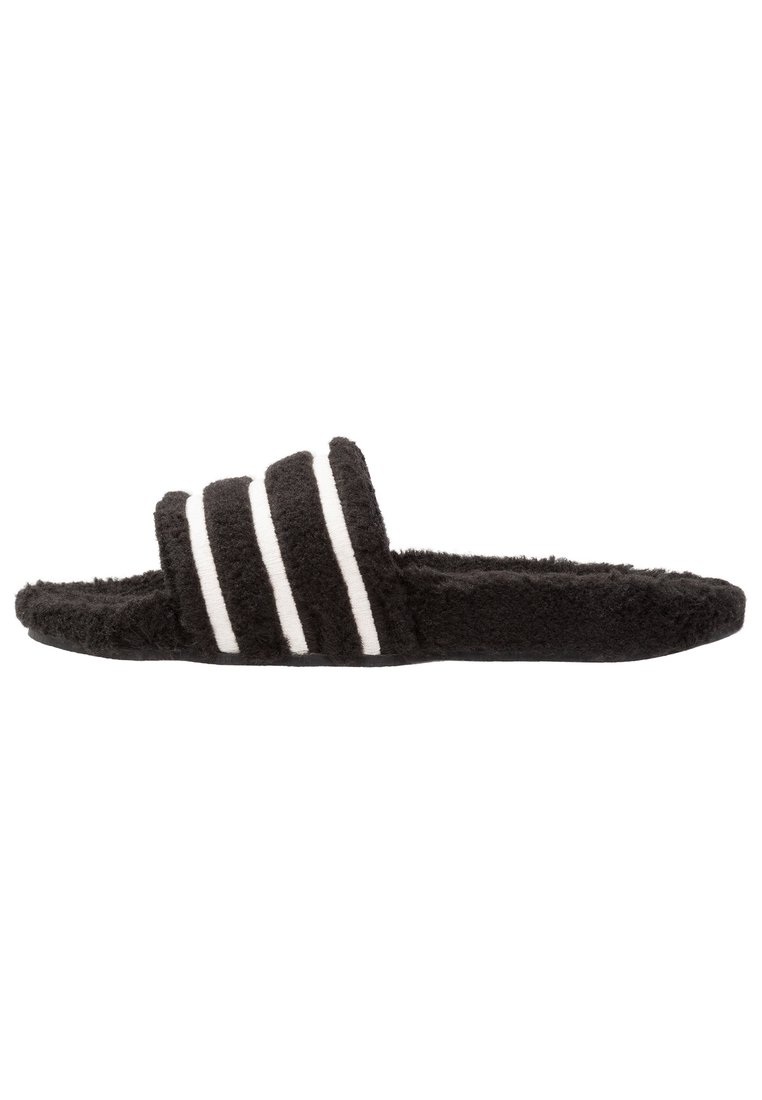 adidas Originals ADILETTE Kapcie core black/chalk white - EOQ94