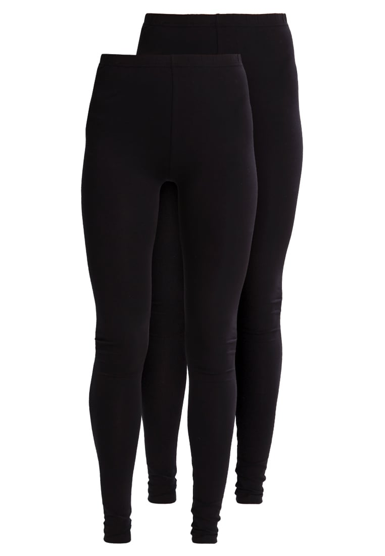 New Look Tall 2 PACK Legginsy black - 3093781