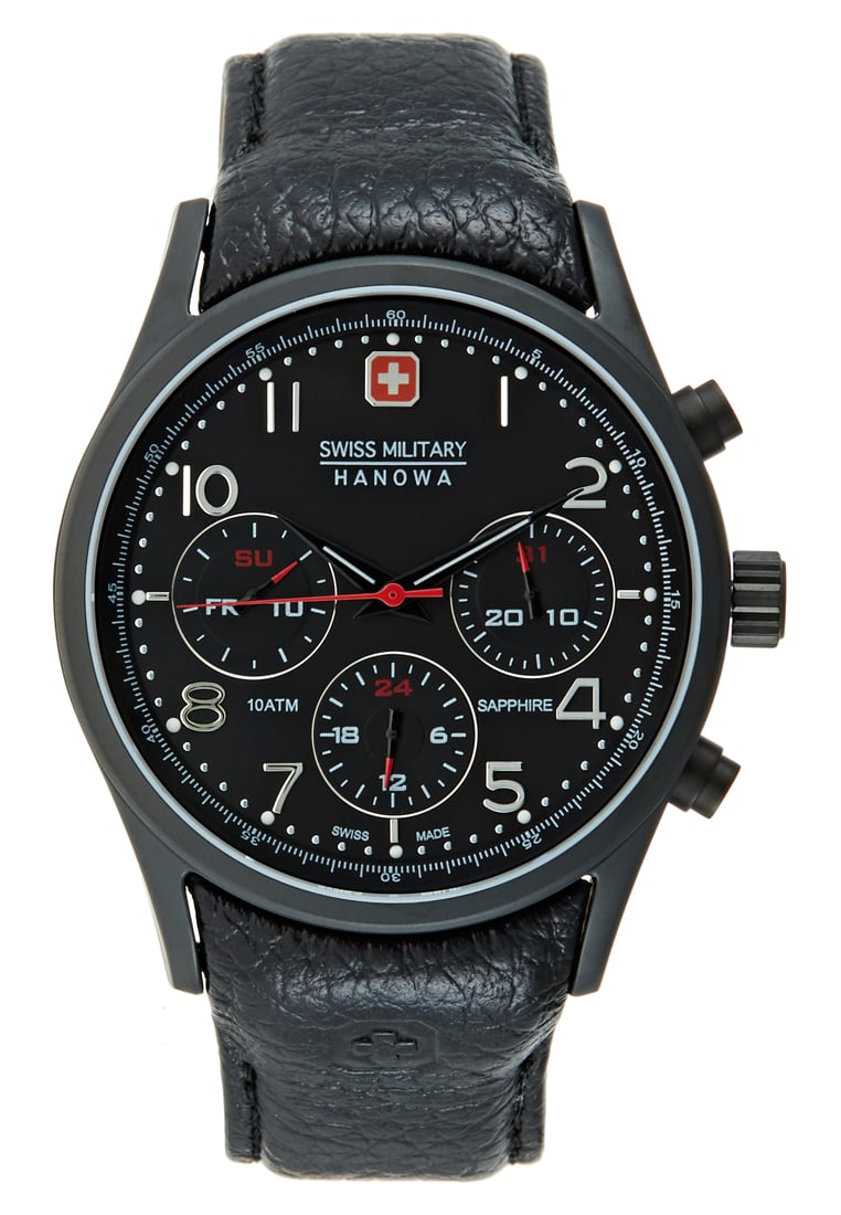 Swiss Military Hanowa NAVALUS Zegarek black - 06-4278.13.007