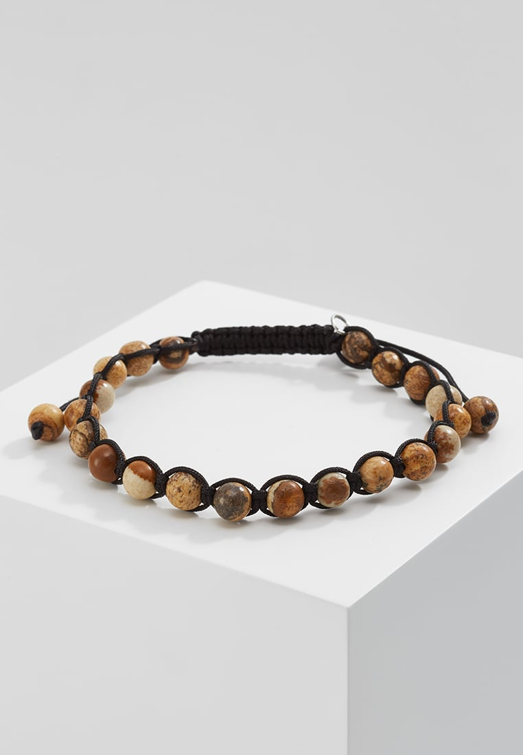 Royal Ego BEAD Bransoletka black/brown - 1242