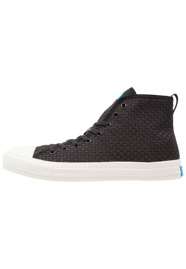 People Footwear PHILLIPS Tenisówki i Trampki wysokie really black - NC01HPFSS16