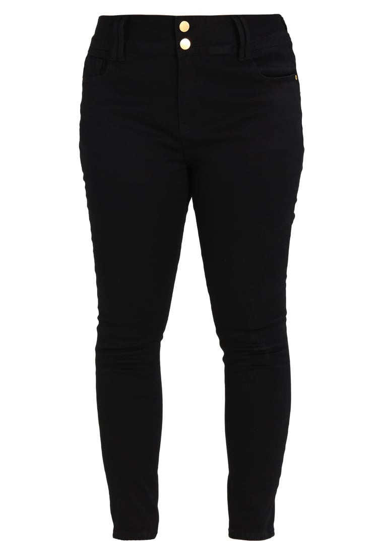 City Chic ASHA Jeans Skinny Fit black - 00129043