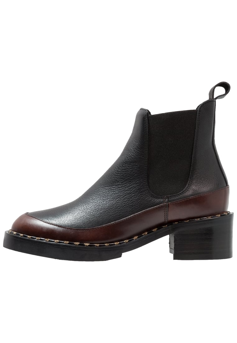 another project Ankle boot black/bordeaux - 5697