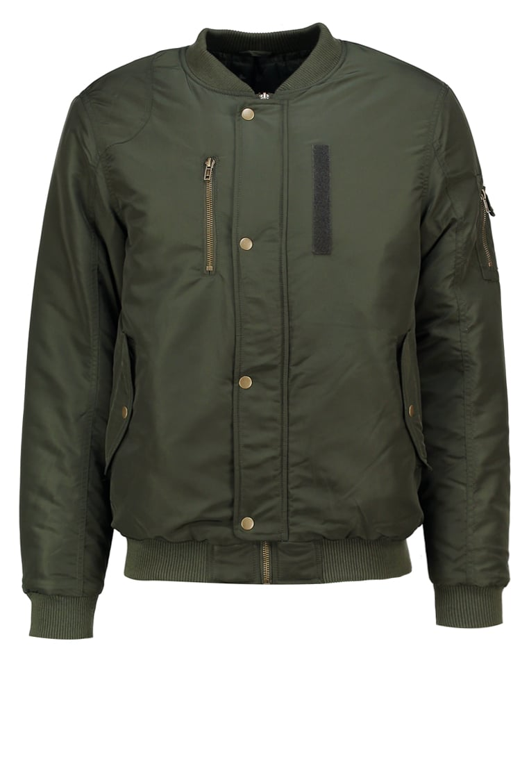 Casual Friday Kurtka Bomber forest green - 20500299