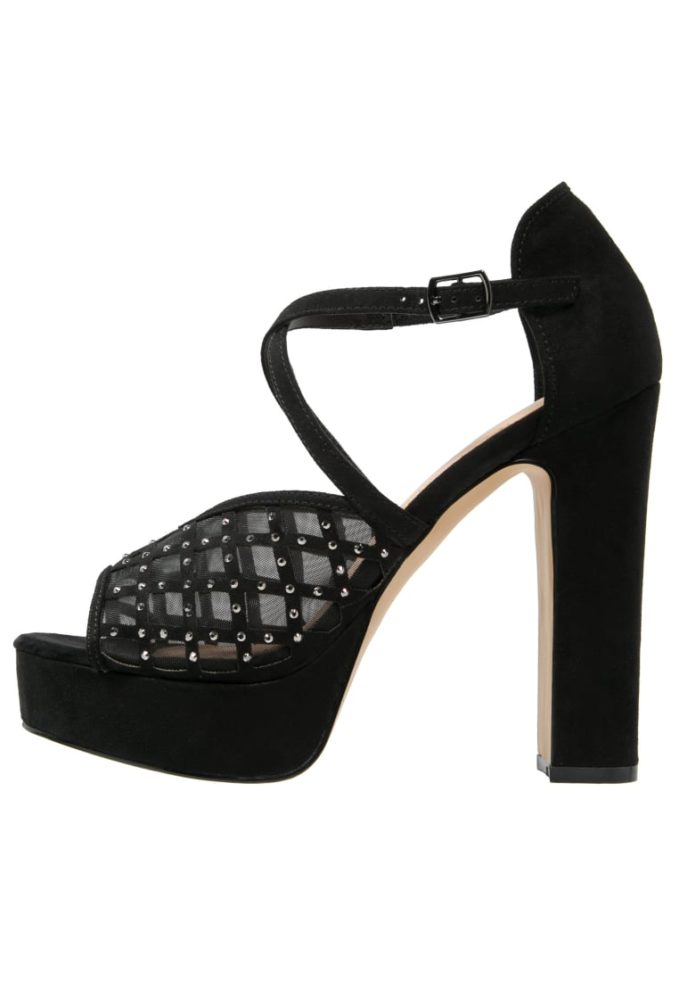 Head over Heels by Dune MYSTIQUE Sandały na obcasie black - 0571508750027037