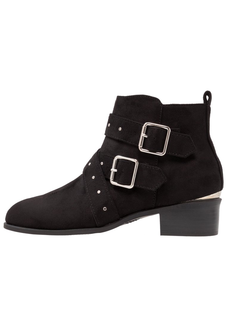 New Look Wide Fit WIDE FIT BUCKROGERS Ankle boot black - 5547130