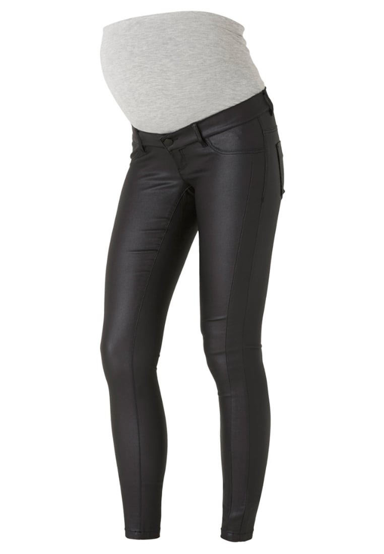 MAMALICIOUS Jeansy Slim fit black - 20006509