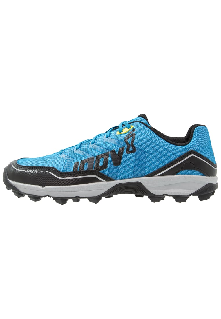 Inov8 ARCTIC TALON 275 Buty do biegania Szlak blue/black/silver/yellow - 5054167422