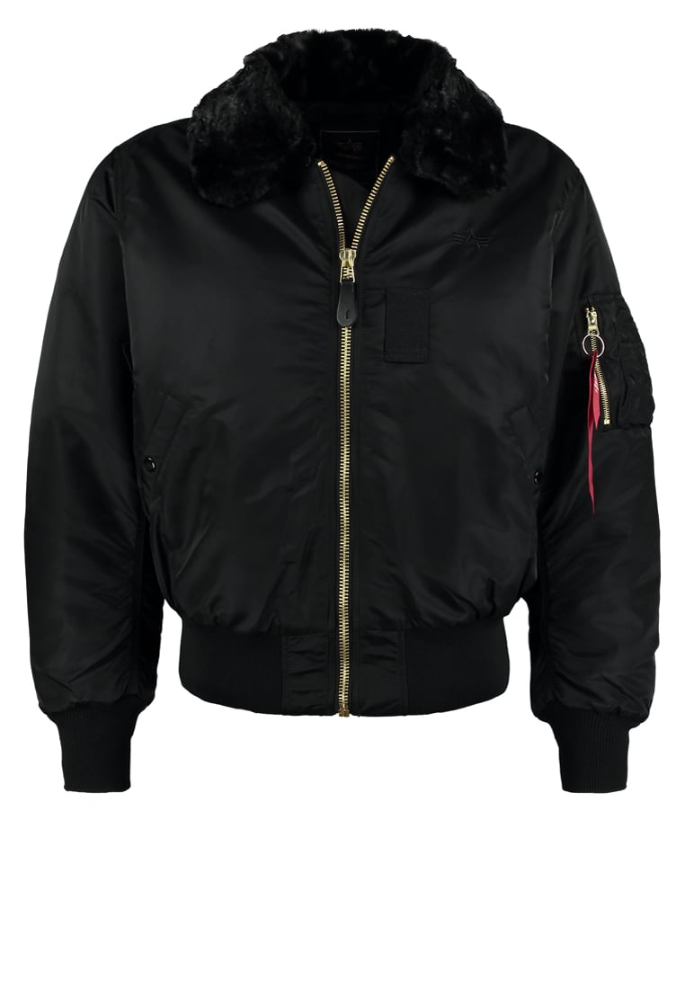 Alpha Industries B15 Kurtka Bomber black - 100107