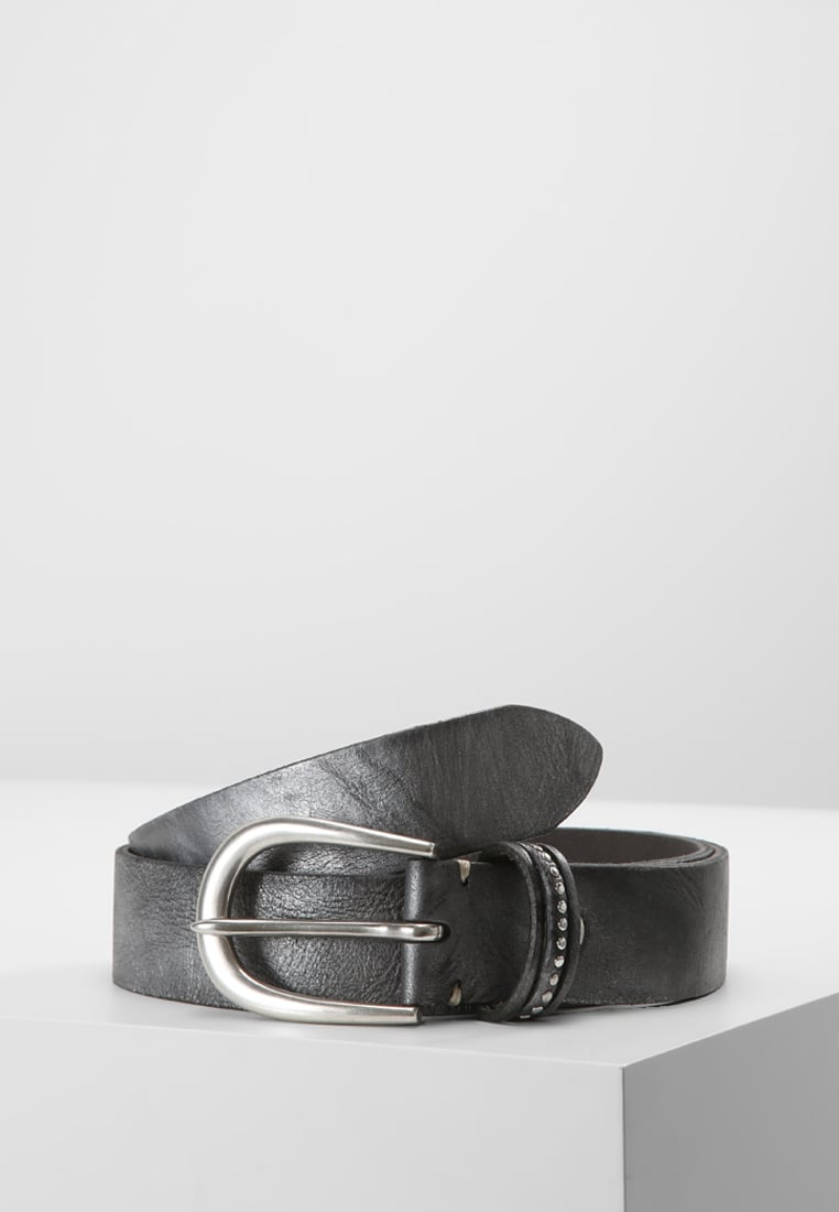 b.belt Pasek anthrazit metallic - BB0554L61