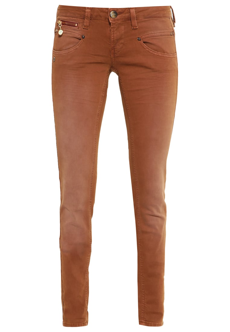 Freeman T. Porter ALEXA Jeansy Slim fit copper - Alexa Slim New Magic Color 00025638-NMC15