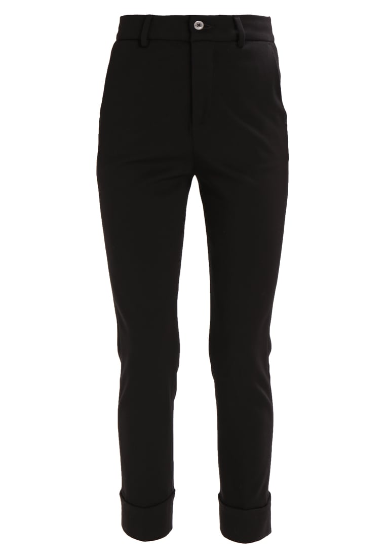 7 for all mankind TAILORED Spodnie treningowe wool black - SY7V280CD