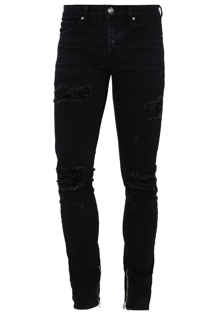 Sixth June Jeansy Slim fit black - M2456HDE