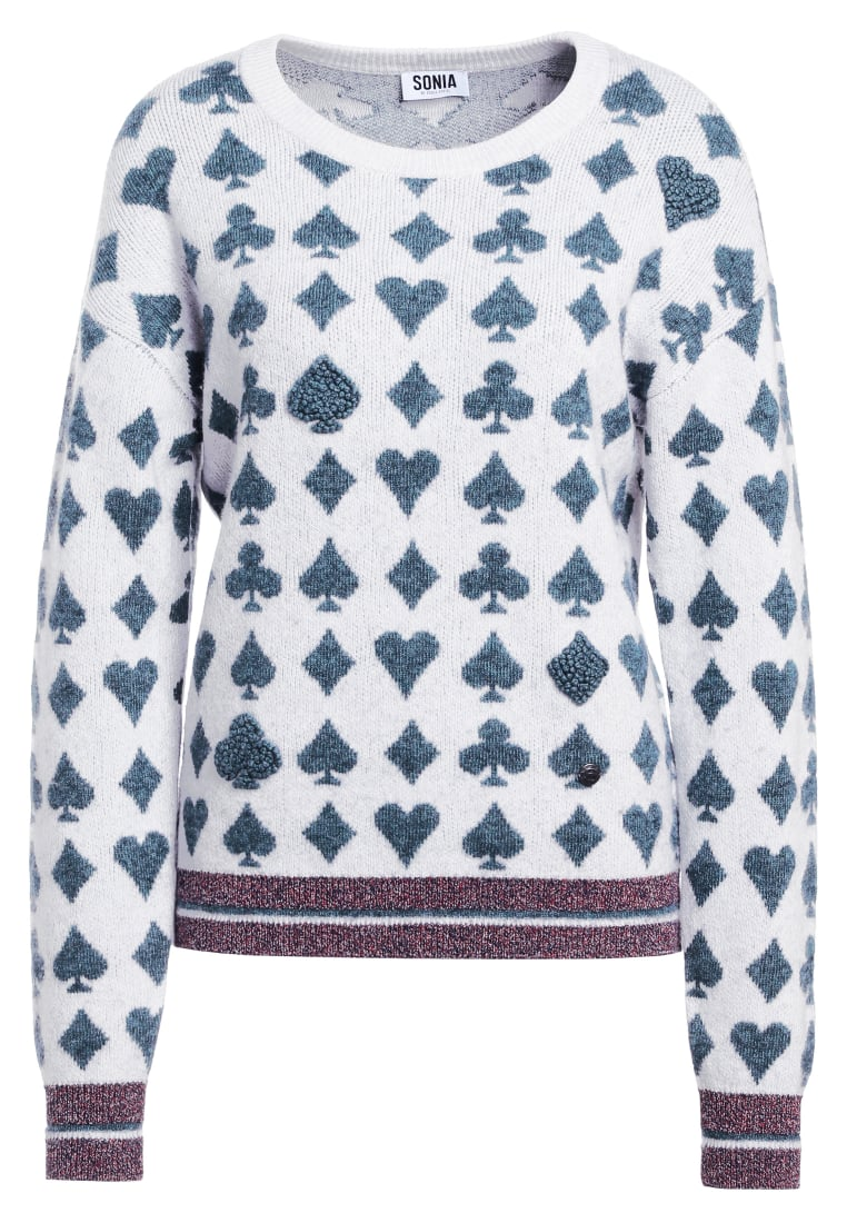 Sonia by Sonia Rykiel PLAYING CARD  Sweter green