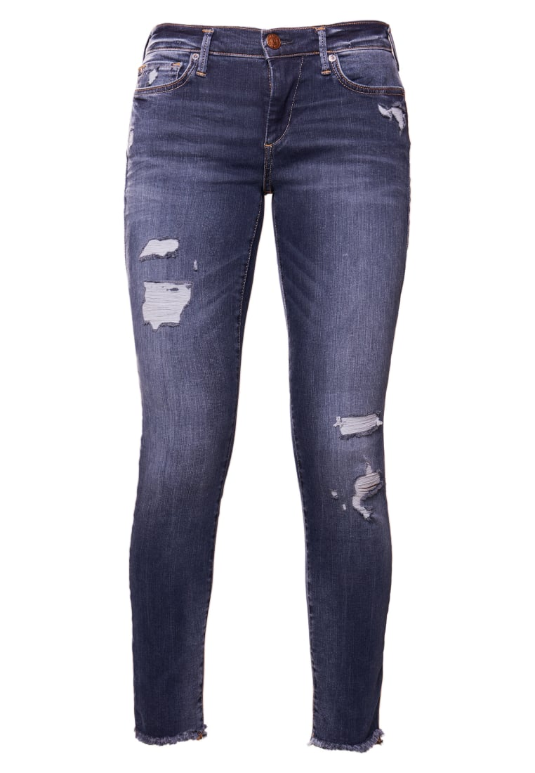 True Religion HALLE Jeansy Slim fit blue denim