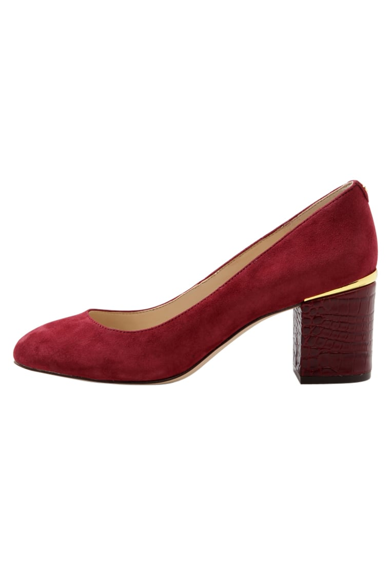 Nine West ASTOR Czółenka oxblood - ASTOR