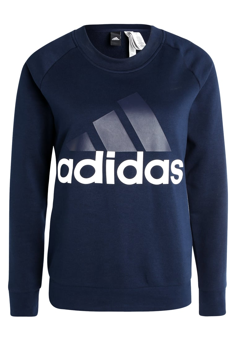 adidas Performance ESSENTIALS LINEAR Bluza collegiate navy - BX374