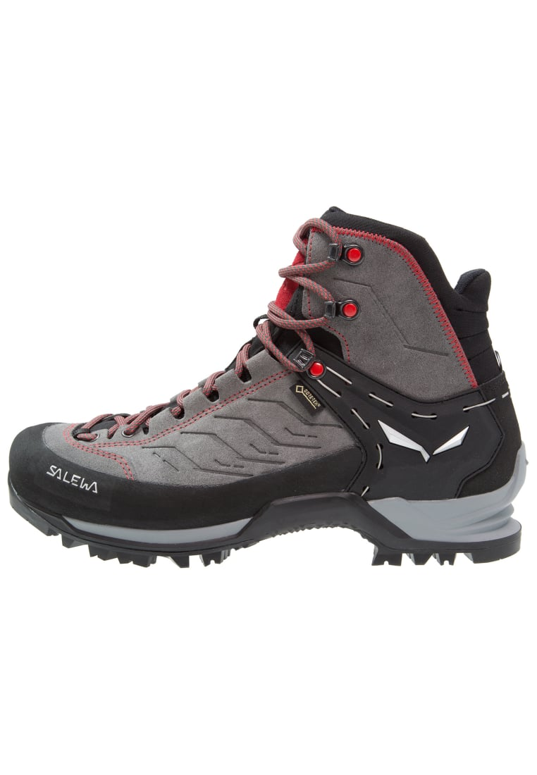 Salewa MTN TRAINER GTX Buty górskie charcoal/papavero - 63458