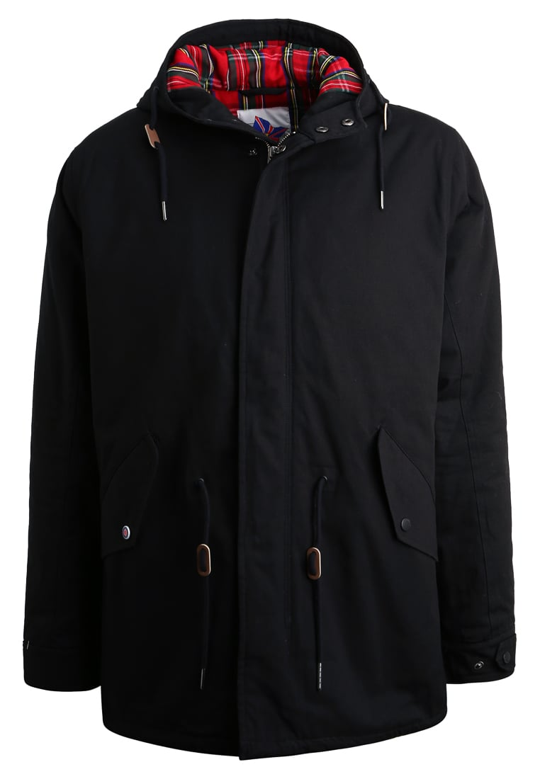 HARRINGTON JIMMY Parka noir - PARKA JIMMY