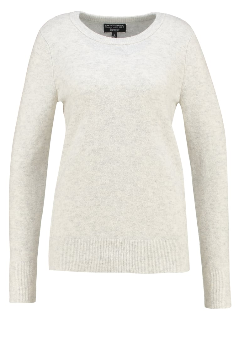 Banana Republic AIRE Sweter light grey - 258469