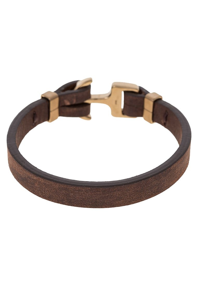 Fossil Bransoletka brown/goldcoloured - JF01863710