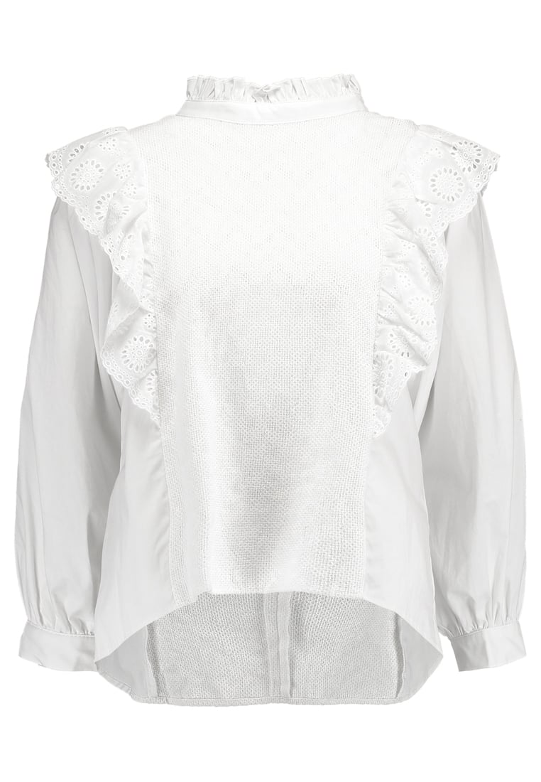 Endless Rose RUFFLED WITH WIDE SLEEVE Bluzka offwhite - 80106T7SR