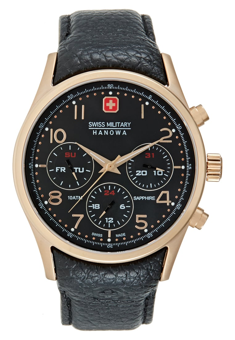 Swiss Military Hanowa NAVALUS Zegarek black - 06-4278.09.007