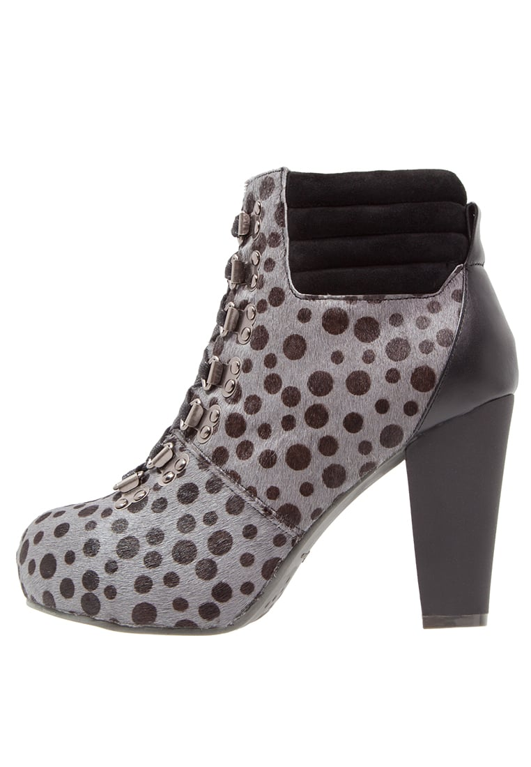 Lola Ramona ANGIE P Ankle boot grey/black - 412202-86